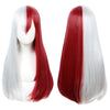 Todoroki Wig From My Hero Academia Red and White Wigs