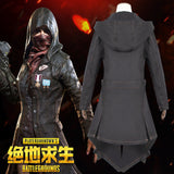 PUBG Cosplay Costume PLAYERUNKNOWN'S BATTLEGROUNDS Coat Outfit