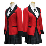 Kakegurui Yumeko Jabami Cosplay Costumes Girls School Uniform
