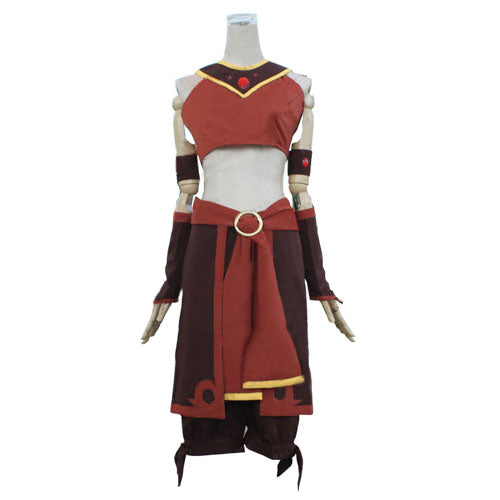 Avatar The Last Airbender Suki Cosplay Costume For Adults Kids