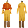 Avatar Aang Cosplay Costume Jumpsuit For Adult Men Kids