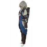 Assassins Creed 3 Connor Kenway Cosplay Costume Men Outfit Custom Made