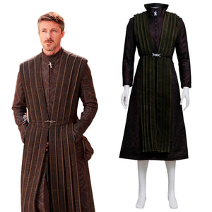Game of Thrones Petyr Baelish Cosplay Costume Men Little Finger Outfit Custom Made