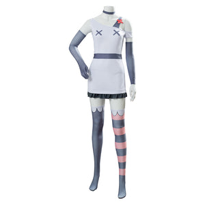 Vaggie Cosplay Costume Hazbin Hotel Suit Uniform Custom made