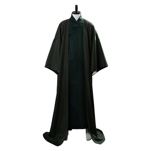 Lord Voldemort Cosplay Costume Men Green Robe