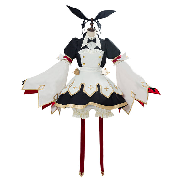 Fate/Grand Order FGO Astolfo Saber Cosplay Costume FGO Maid Dress