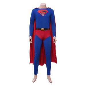 Clark Kent Crisis on Infinite Earths Cosplay Costume Uniform Outfit