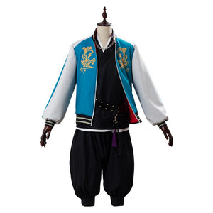 Kuko Harai Costume Hypnosis Mic Division Rap Battle Evil Monk Cosplay Outfit