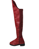 Supergirl Cosplay Boots Kara Zor-El Danvers Boots Red Shoes