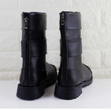 Anime Naruto Uzumaki Naruto Cosplay Shoes Black Peep Toe Boots