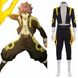 Fairy Tail Tartaros Arc Natsu Dragneel Cosplay Costume