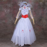 Mary Poppins Cosplay Dress Movie Role-Play Costumes Women Princess Dress