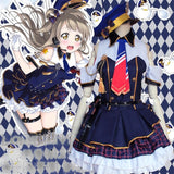 Love Live Costume Girls Lady Minami Kotori Policewoman Uniform Dress