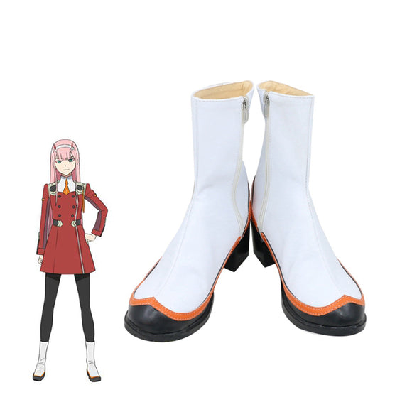 DARLING in the FRANXX Cosplay Shoes 02 Cosplay Boots Zero Two Women Shoes