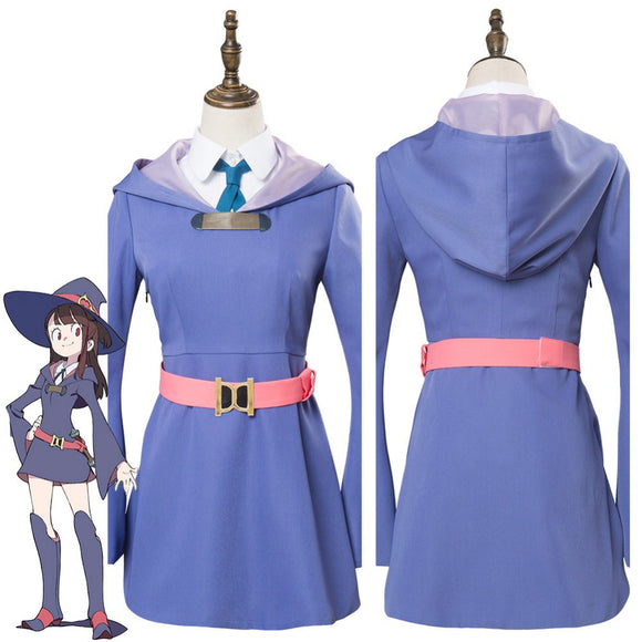 Little Witch Academia Atsuko Kagari Cosplay Costume Uniform Dress Suit
