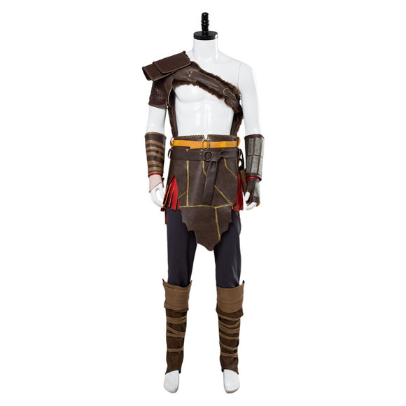 God of War 4 Kratos Nordic Cosplay Costume Outfit