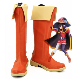 Anime Megumin Cosplay Shoes Boots Custom Made