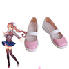 Monika Cosplay Shoes Doki Doki Literature Cosplay Shoes Custom Made