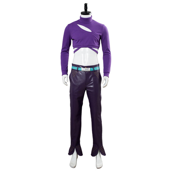 JoJo Diavolo Cosplay Costume JoJo's Bizarre Adventure: Golden Wind Outfit Suit