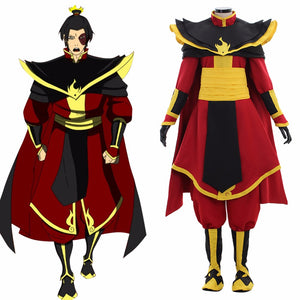 Avatar The Last Airbender Azula Cosplay Costume Men Outfit