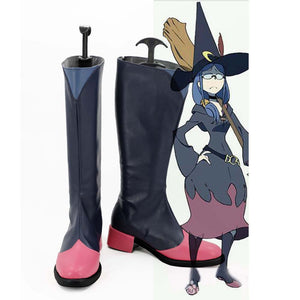 Little Witch Academia Professor Ursula Cosplay Shoes Boots