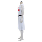 Medieval St George Knight Crusader Dress Costume Knight Tunic Belt With Maltese Cross Custom Made