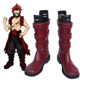 My Hero Academia Eijiro Kirishima Cosplay Boots Boku no Hero Shoes