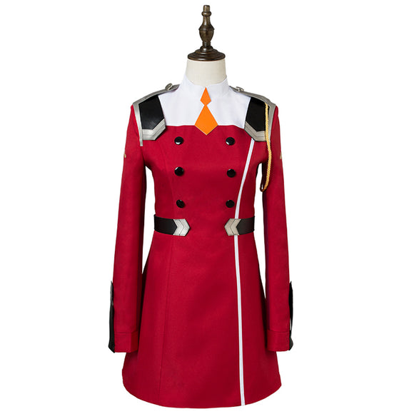 Darling in the Franxx Code 002 Cosplay Costume Zero Two Women Dress