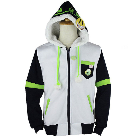 Dramatical Murder Jacket Noiz Cosplay Costume Hoodie Overcoat Custom Made