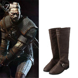 Geralt of Rivia Cosplay Boots The Witcher 3 Wild Hunt Cosplay Shoes