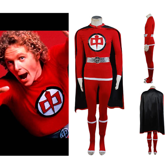 Greatest American Hero William Katt Superhero Flying Suit Cosplay Costume
