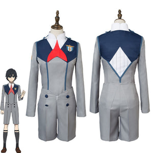 Darling in the Franxx Code 016 Hiro Cosplay Costume