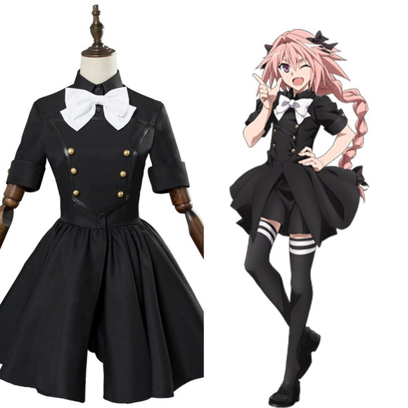 Fate Apocrypha Epilogue Event Astolfo Cosplay Costume Dress
