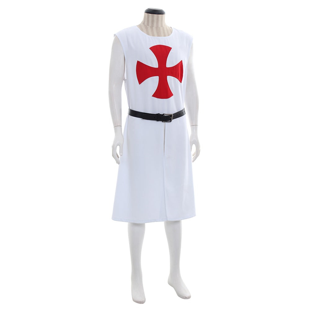 ... Medieval St George Knight Crusader Dress Costume Knight Tunic Belt With Maltese Cross Custom Made ...  sc 1 st  Auscosplay & Medieval St George Knight Crusader Dress Costume Knight Tunic Belt ...