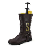 Devil May Cry 5 Dante Cosplay Shoes Brown Boots