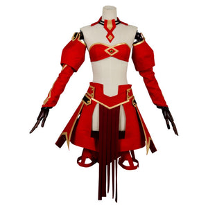 Saber Of Red Cosplay Costume Fate/Grand Order Apocrypha Suit