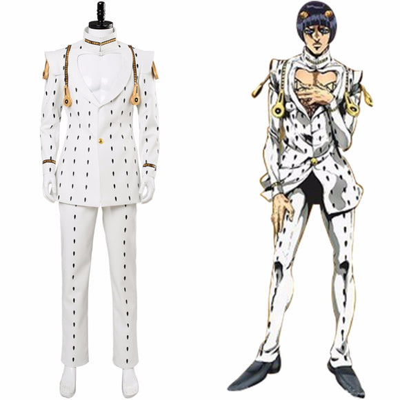 JoJo's Bizarre Adventure Golden Wind Bruno Buccellati Cosplay Costume