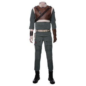Star Wars Jedi Fallen Order Cosplay Costume Uniform Suit Outfit