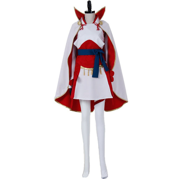 Fire Emblem IF Sakura Cosplay Costume Halloween Adult Women Dress