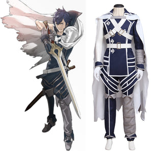 Fire Emblem Awakening Chrom Cosplay Costume Men Outfit