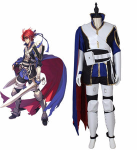 Fire Emblem Awakening Roy Cosplay Costume For Adult Kids