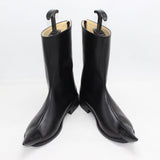 Anime Persona 5 Joker Cosplay Shoes Black Boots Custom Made