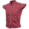 Medieval Men Vest Costume Retro Doublet Cosplay Renaissance Gothic Red Top