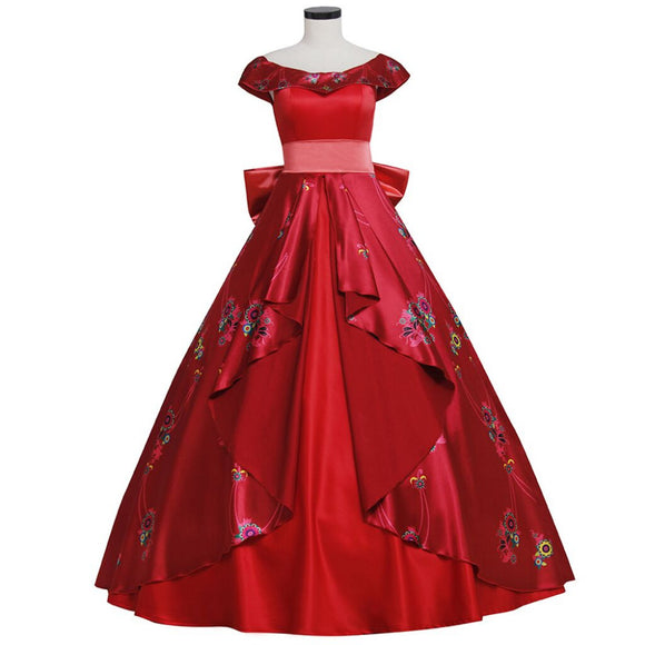 Elena of Avalor Princess Elena Cosplay Costume Adult Women's Dress