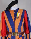 Switzerland Soldiers Costume Swiss Guard Uniform For Adult Men