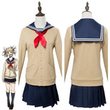 Boku no Hero Akademia Himiko Toga Cosplay Costume My Hero Academia Uniform