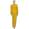 Kill Bill The Bride Cosplay Costume Yellow Jumpsuits Outfit