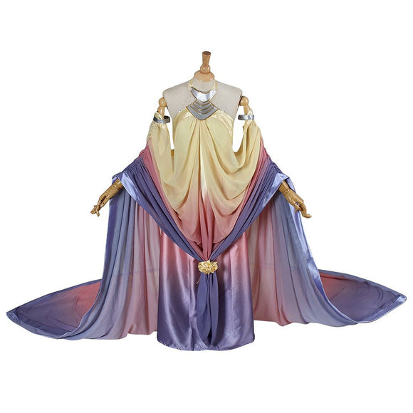 Star Wars Padme Naberrie Amidala Dress Cosplay Costume Adult Women Party Fancy Dress Custom Made