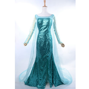 Elsa Costume Elsa Coronation Cosplay Outfit Elsa Coronation Dress Custom Any Size