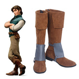 Flynn Rider Cosplay Shoes Game Men Boots Custom Made